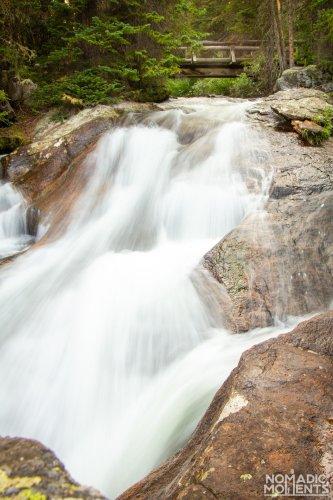 North St. Vrain Falls