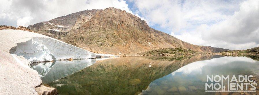 Snowbank of the Lake