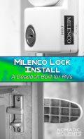 Milenco RV Deadbolt Security Lock