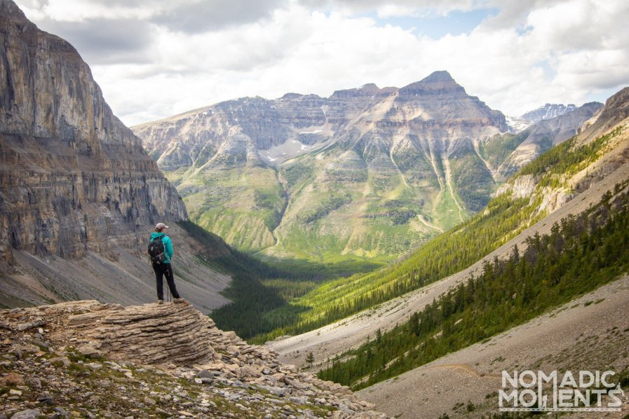Stanley Glacier Trail Overlook