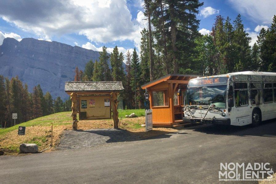 Tunnel Mountain Village I Bus Stop