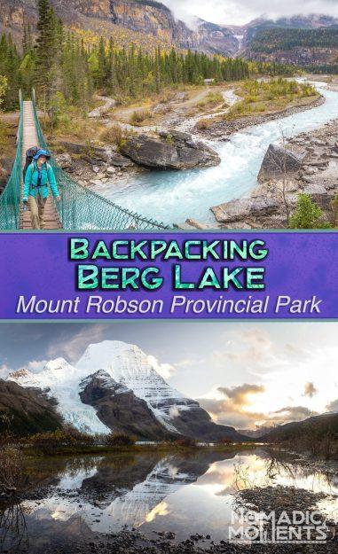 Backpacking Berg Lake