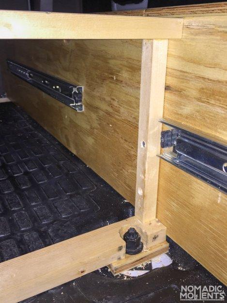 Securing the Bike Box - SuperCab Renovation