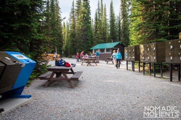 Lake O'Hara Camping