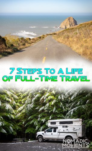 7 Steps to a Life of Full-Time Travel