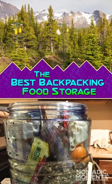 Best Backpacking Food Storage