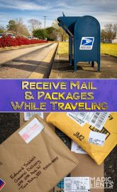 Receive Mail While Traveling