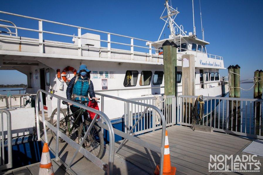 Cumberland Island Ferry with Bike