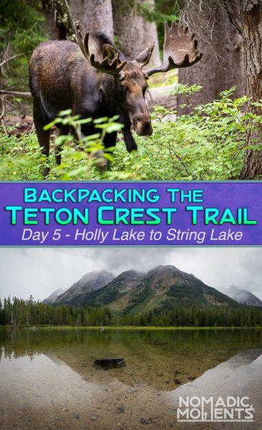 Teton Crest Trail - Day 5