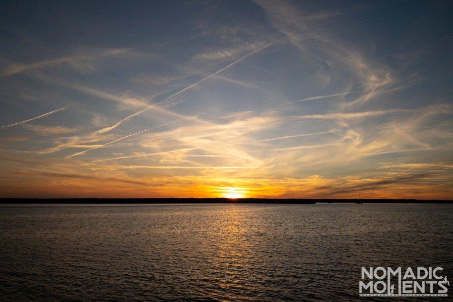 Visiting Cumberland Island Sunset