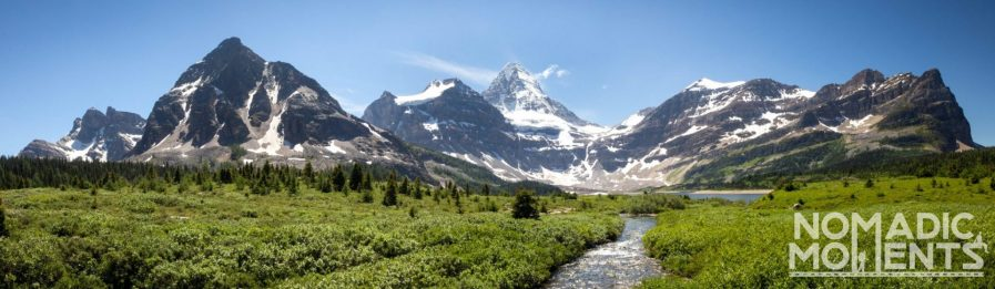 Assiniboine Mountain Range