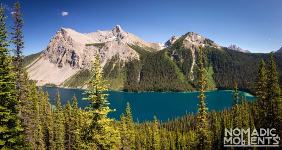 Marvel Peak and Lake - Assiniboine via Wonder Pass