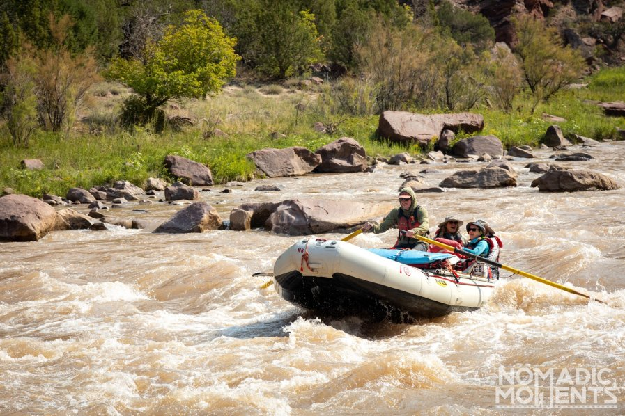 Rafting the Gates of Lodore through Hell's Half-Mile