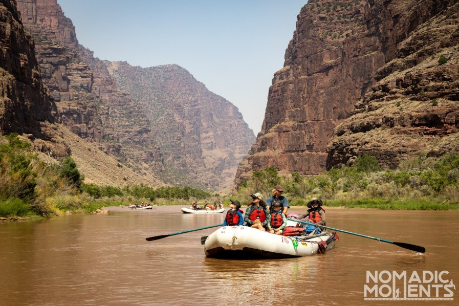 Rafting the Gates of Lodore Canyon