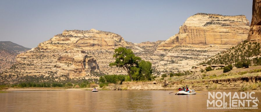 Yampa River Confluence - Rafting the Gates of Lodore