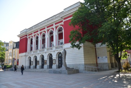 Opera House in Ruse, Bulgaria