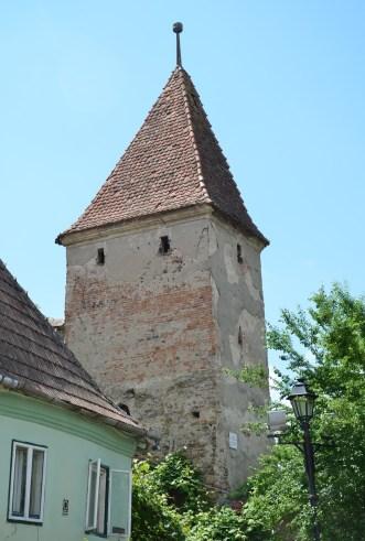 Butcher's Tower in Sighişoara, Romania