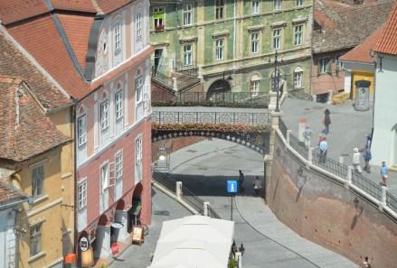 Liar's Bridge in Sibiu, Romania