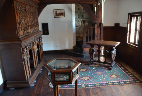 Prince's school room at Bran Castle in Bran, Romania