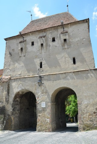 Tailor's Tower in Sighişoara, Romania