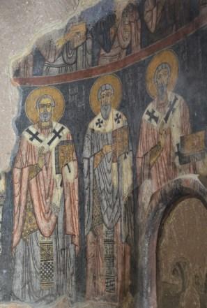 Church at Eski Gümüşler Manastırı in Turkey