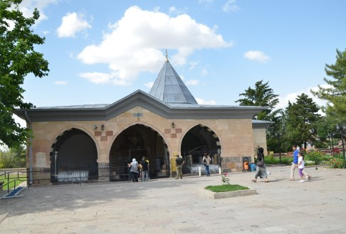 Shrine at the Hacıbektaş Külliyesi in Hacıbektaş, Turkey