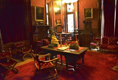 Prime Minister's office at Peleș Castle in Sinaia, Romania