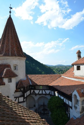 Bran Castle in Bran, Romania