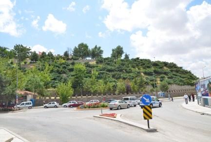Kırşehir Kalesi in Kırşehir, Turkey