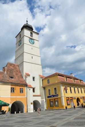 Turnul Sfatului in Sibiu, Romania
