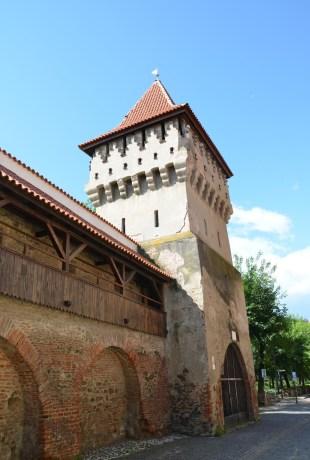 Potter's Tower in Sibiu, Romania
