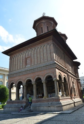 Crețulescu Church in Bucharest, Romania