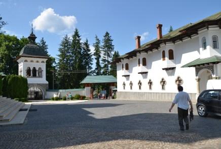 Sinaia Monastery in Sinaia, Romania