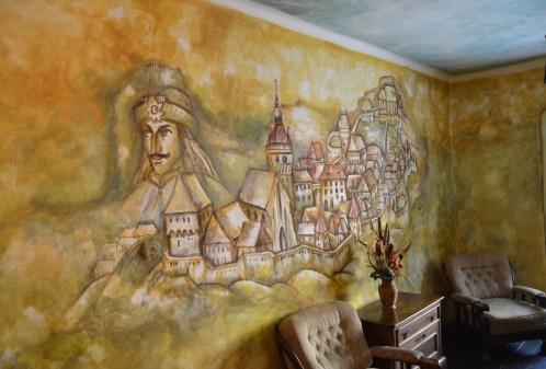 Casa Dracul in Sighişoara, Romania