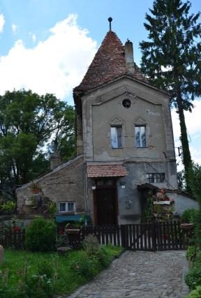 Ropemaker's Tower in Sighişoara, Romania