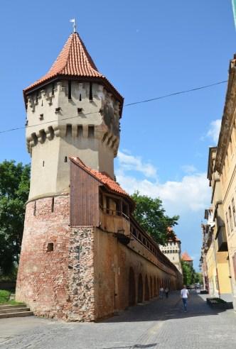 Carpenter's Tower in Sibiu, Romania