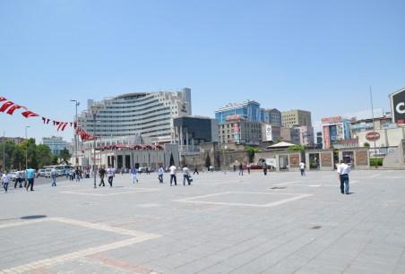 Cumhuriyet Meydanı in Kayseri, Turkey