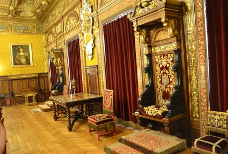 Florentine room at Peleș Castle in Sinaia, Romania