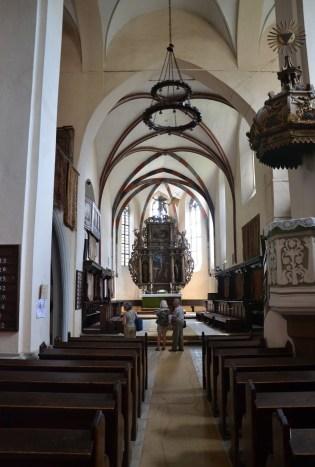 Biserica Mănăstirii Dominicane in Sighişoara, Romania