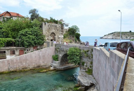 Roman bridge in Amasra, Turkey
