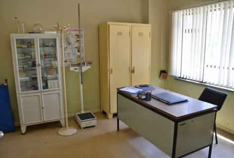 Doctor's office at Sinop Cezaevi in Sinop, Turkey