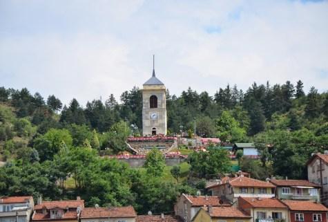 Saat Kulesi in Kastamonu, Turkey