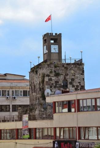 Saat Kulesi in Sinop, Turkey