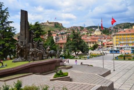 Cumhuriyet Meydanı in Kastamonu, Turkey