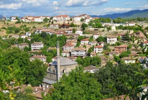 View from Kale in Safranbolu, Turkey
