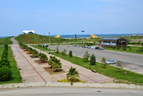 Amazon Adası in Samsun, Turkey