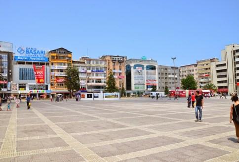 Cumhuriyet Meydanı in Samsun, Turkey