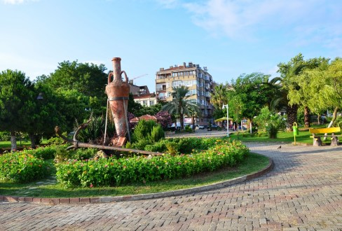 Barış Manço Parkı in Sinop, Turkey