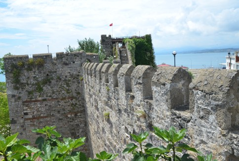 City walls in Sinop, Turkey