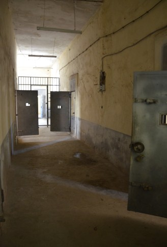 Cell block at Sinop Cezaevi in Sinop, Turkey